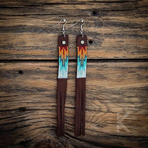 Southwest Rust Earrings