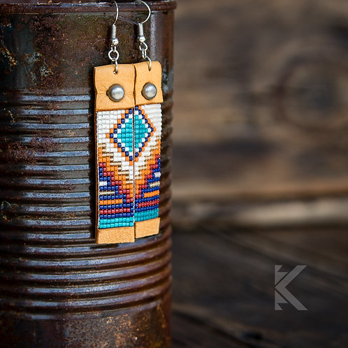 Laramie Retro Earrings