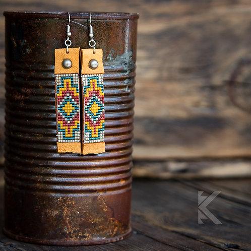 Santa Fe Concho Earrings