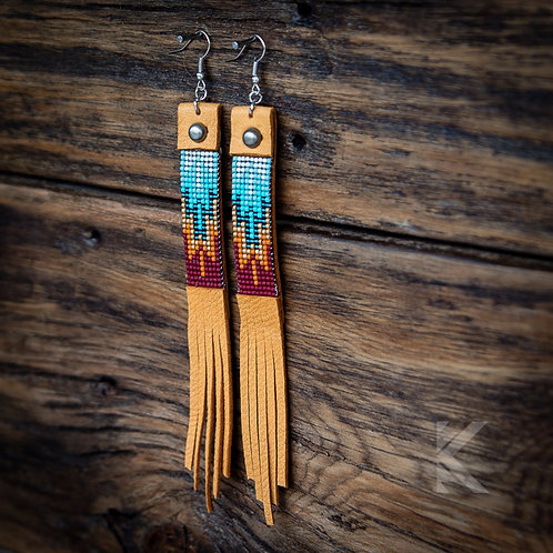 SW Rust Earrings II