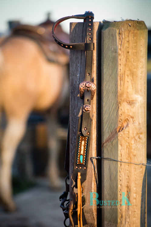 Gunner Feather Headstall