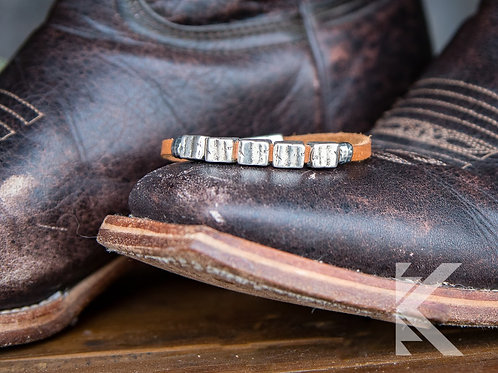 Gunner Silver Bracelet