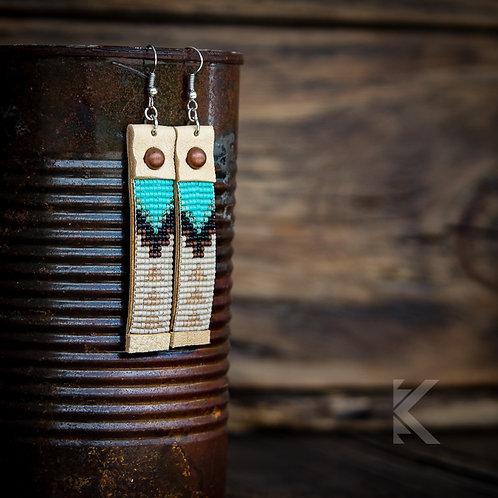 Kingman Arrowhead Earrings