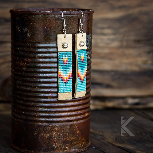 Sammy Arrowhead Earrings