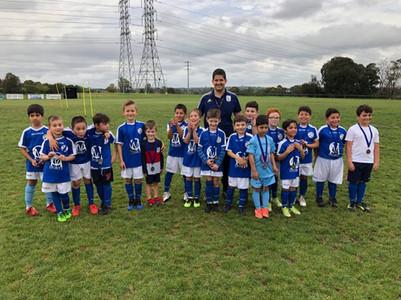 Junior Soccer Players