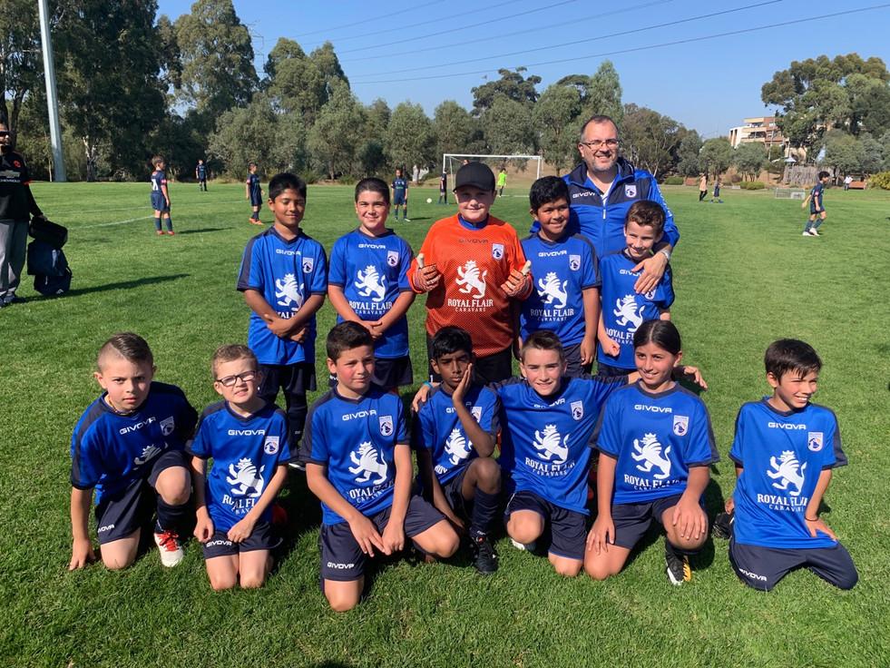 Mill Park Soccer Club under 10 boys