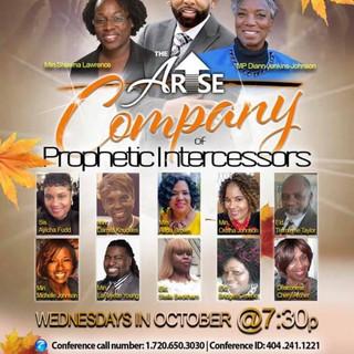 Company of Intercessors Wednesday Virtua