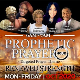 6AM Prayer Line