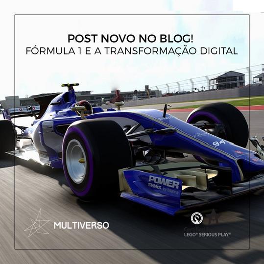 Fórmula 1 e transformação digital