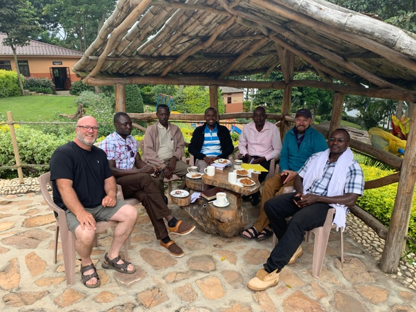 Small Group time in Uganda