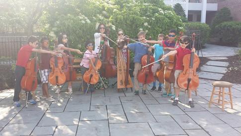 Cello munchkin power!
