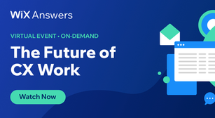 Virtual Event: The Future of CX Work