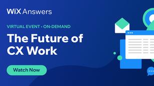 Virtual Event: The Future of CX Work