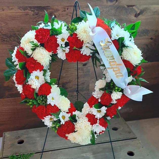 The Italian Heritage Standing Wreath