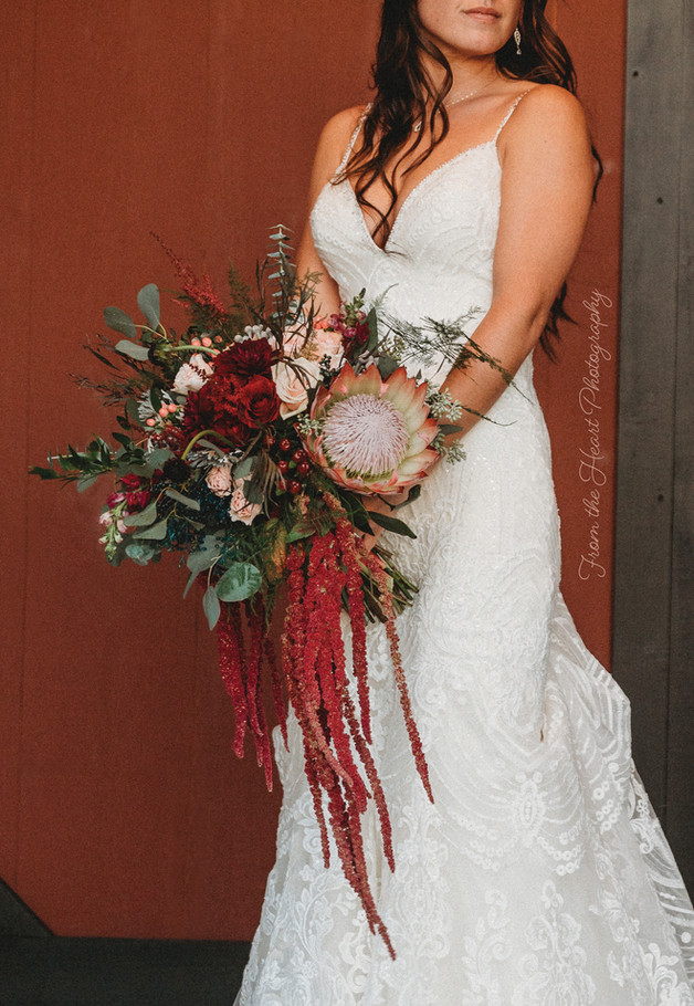 October Bouquet ~ From the Heart Photography