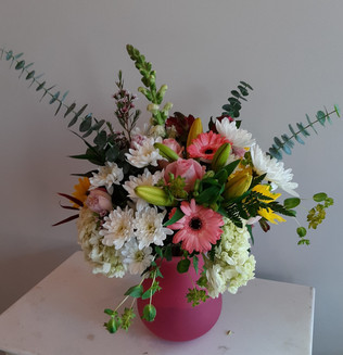 Mother's Day Pink Vase