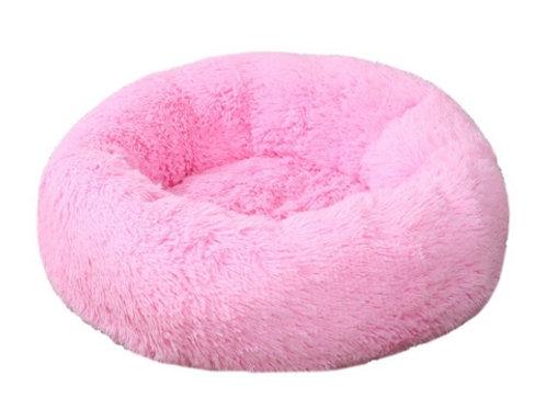 Donut Hundebett /Katzenbett Rosa