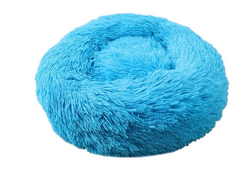 Donut Hundebett /Katzenbett Blue
