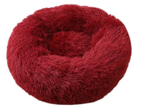 Donut Hundebett /Katzenbett Red
