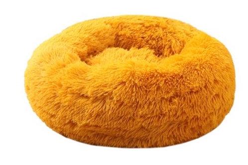 Donut Hundebett /Katzenbett Yellow