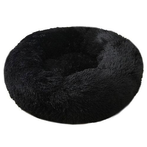Donut Hundebett/Katzenbett schwarz