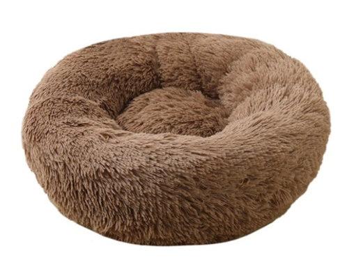 Donut Hundebett /Katzenbett Brown