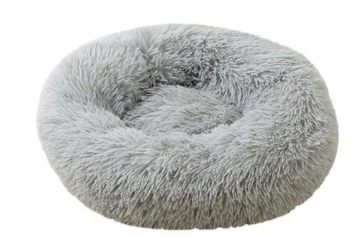 Donut Hundebett /Katzenbett Grey