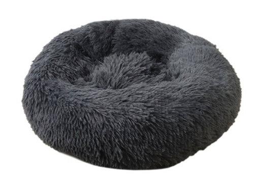Donut Hundebett /Katzenbett Dark Grey