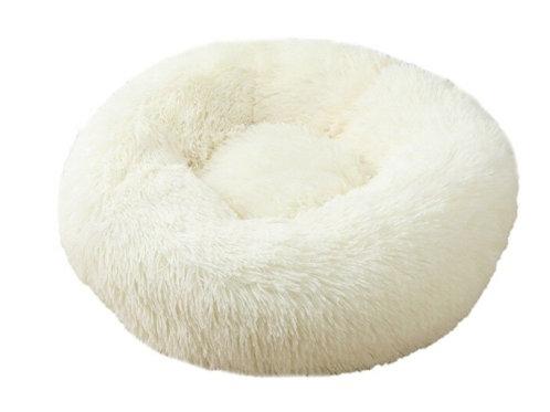 Donut Hundebett /Katzenbett white