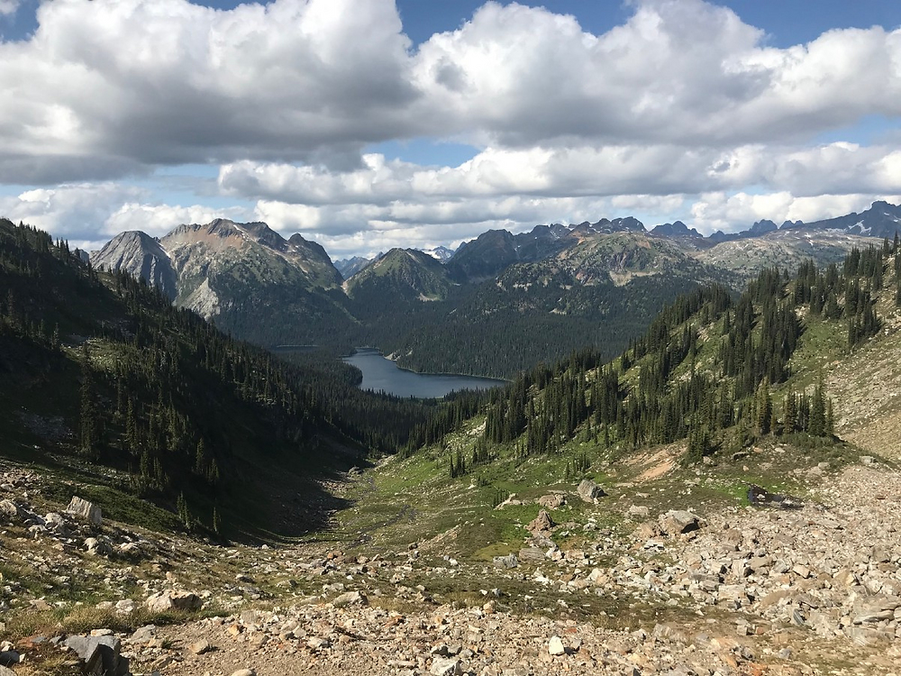 Big Peter's Lake Monashee Mountains