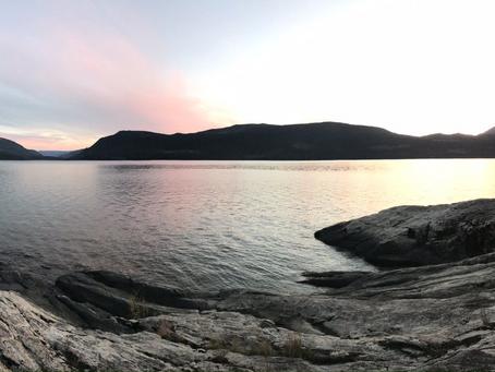 The Shore of Sugar Lake