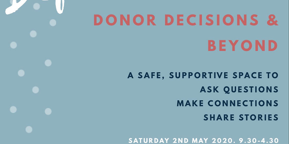 Donor decisions and beyond!