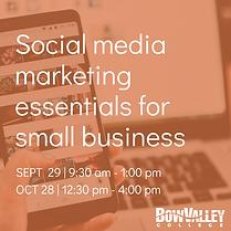 Social media marketing essentials for sm