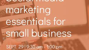 Upcoming Marketing Workshops