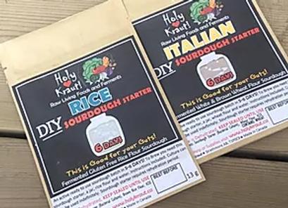 Italian and Rice Sourdough Kits