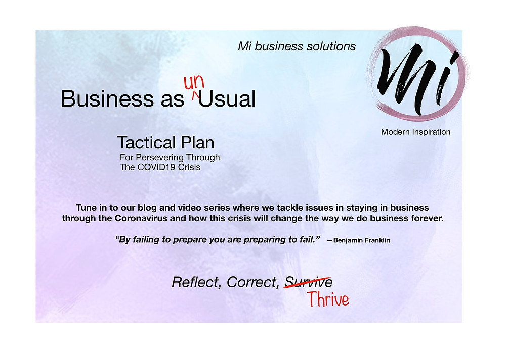 Mi business solutions - Business as Un<usual