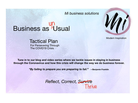 Coming Soon: Business as Un<usual, Blog & Video Series