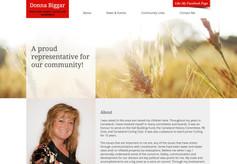 Councillor Donna Biggar