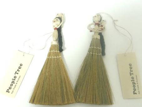ホワイトデー特集!ブラシ(税抜)1,200円PeopleTreeジュートバングラディッシュ