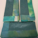 folded blue wrapping cloths .jpg