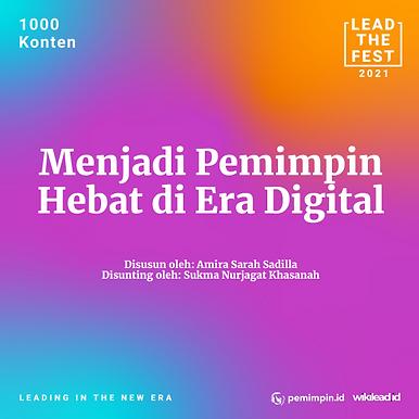 Menjadi Pemimpin Hebat di Era Digital