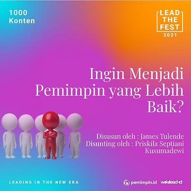 Ingin Menjadi Pemimpin yang Lebih Baik?