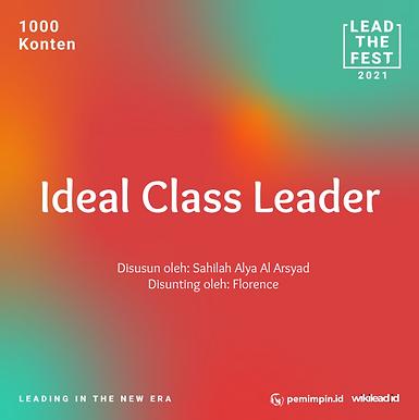 Ideal Class Leader