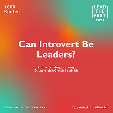 Can Introvert Be Leaders?