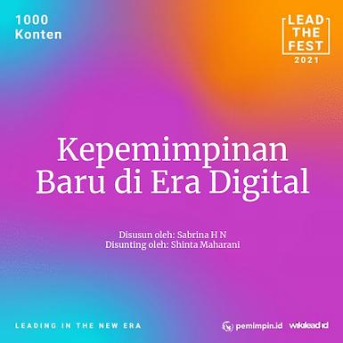 Kepemimpinan Baru di Era Digital