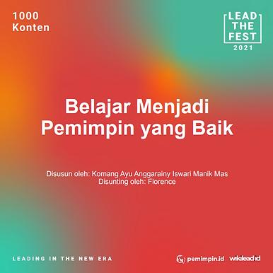 Belajar Menjadi Pemimpin yang Baik