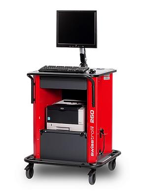mobiler Arbeitsplatz Laserdrucker