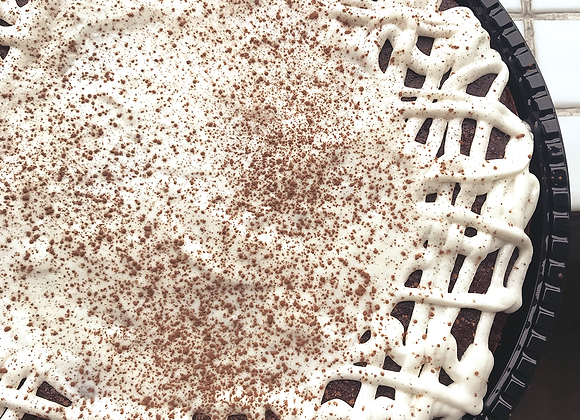 Torta-Brownie Vegana