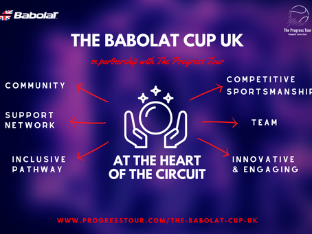 The Babolat Cup UK in full swing...