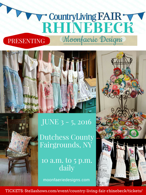 Country Living Fair Rhinebeck NY  June 3,4, 5 here we come!!!